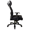 Space Seating 63 Series Professional AirGrid Back and Black Mesh Seat Office Chair - OSP-63-37A773HM