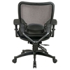 Space Seating 68 Series Professional Black Ergonomic Office Chair - OSP-68-50764