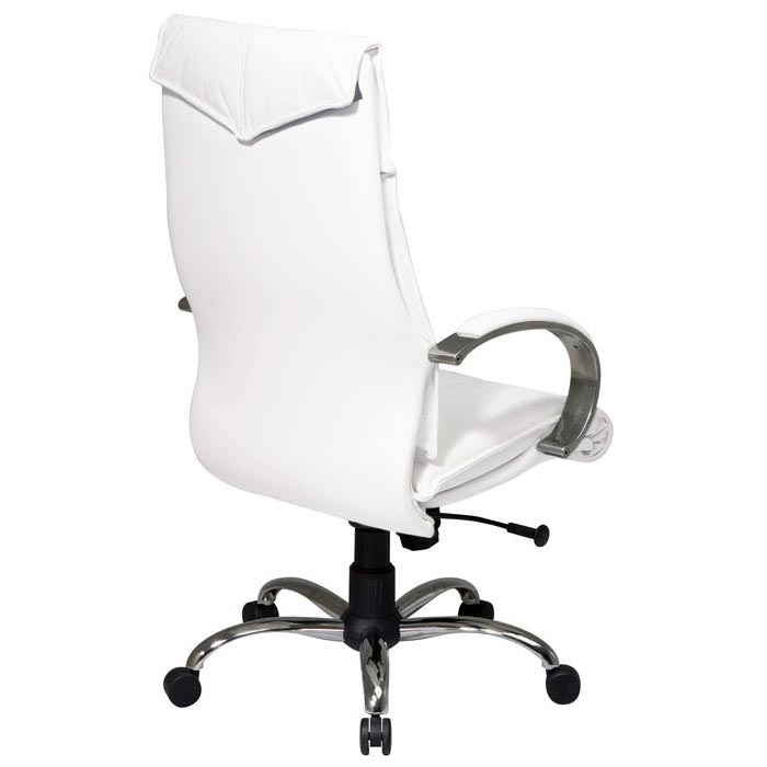 Attractive ... Pro Line II 7270   Deluxe High Back White Leather Executive Chair   OSP