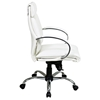 Pro-Line II 7271 - Mid Back Executive Chair with Padded Armrests - OSP-7271