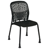 Space Seating 801 Series Deluxe SpaceFlex Black Frame Visitor's Chair (Set of 2) - OSP-801-333G
