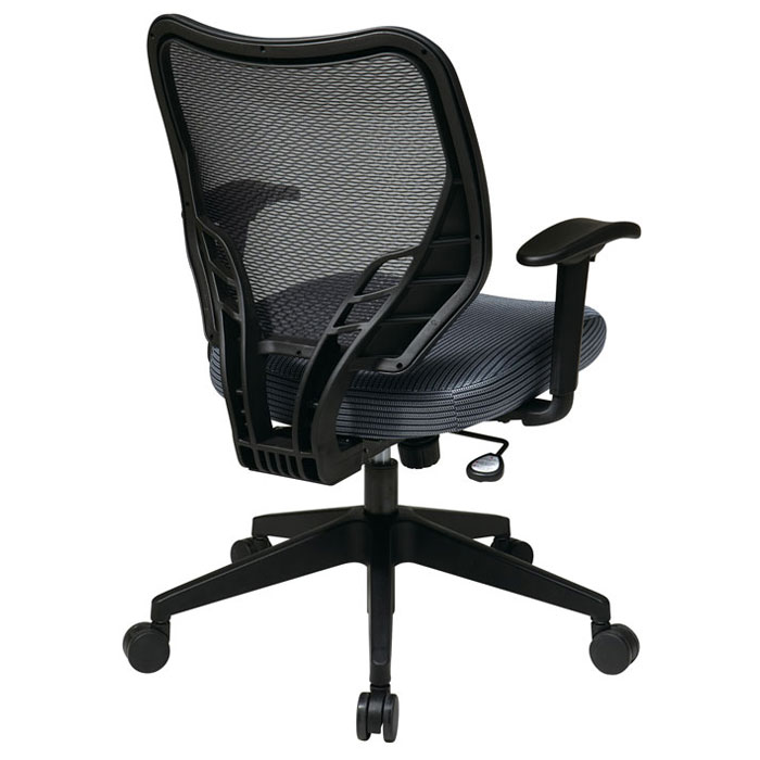 Space Seating 81 Series Blue Mist VeraFlex Seat and AirGrid Back Manager's Chair - OSP-81-V77N18P