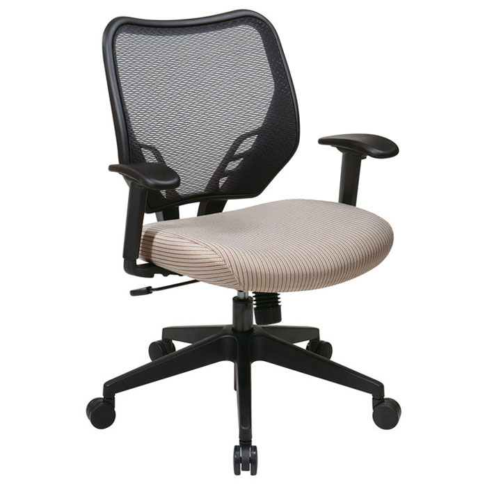 Space Seating 81 Series Latte VeraFlex Seat and AirGrid Back Manager's Chair - OSP-81-V87N18P