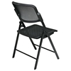 Pro-Line II Folding Deluxe ProGrid Black Chair - OSP-81308