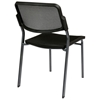 Pro-Line II Stacking ProGrid Chair with Titanium Finished Frame (Set of 2) - OSP-81709