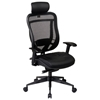 Space Seating 818 Series Executive Leather Seat and Headrest Office Chair - OSP-818-41G9C18P-HRL818