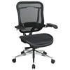 Space Seating 818A Series Executive High Back Mesh Office Chair with Cantilever Arms - OSP-818A-11P9C1C3