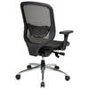 Space Seating 829 Series Breathable Mesh Back and Seat Office Chair with Chrome Base - OSP-829-22P5C1C4