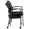Pro-Line II ProGrid Mesh Back Stacking Visitor's Chair with Casters - OSP-84540