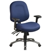 Pro-Line II 8512 - Multi-Function Mid Back Office Chair with Titanium Finished Base - OSP-8512