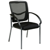 Pro-Line II ProGrid Back Visitor's Chair with Nylon Arms - OSP-85670