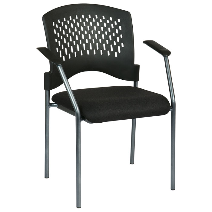 Pro Line Ii Stacking Visitor 39 S Chair With Ventilated Plastic Wrap Around Back Dcg Stores
