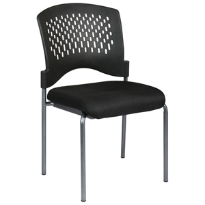 Pro-Line II Ventilated Back Stacking Visitors Chair with Tube Legs