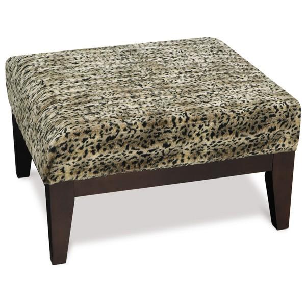 Miraculous Avenue Six Glen Small Ottoman In Tanzania Fabric Customarchery Wood Chair Design Ideas Customarcherynet
