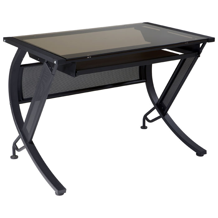 Pro-Line II Horizon Computer Desk with Keyboard Tray | DCG Stores