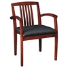 Napa Wood Guest Chair in Cherry Finish (Set of 2) - OSP-NAP-992-CHY