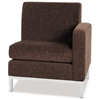 Park Avenue Single Right Armed Chair in Chocolate Chenille - OSP-PAV51RF-C21