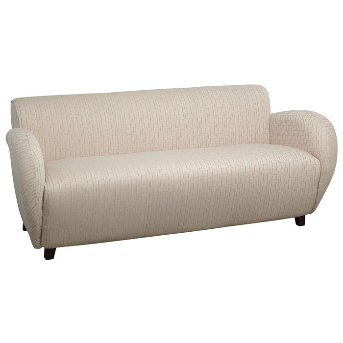 Sofa with Wide Curved Arms - OSP-SF2473
