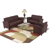 Breeze Armchair, Loveseat, and Sofa Set in Wine Eco-Leather - OSP-SL2271EC6-SL2272EC6-SL2273EC6