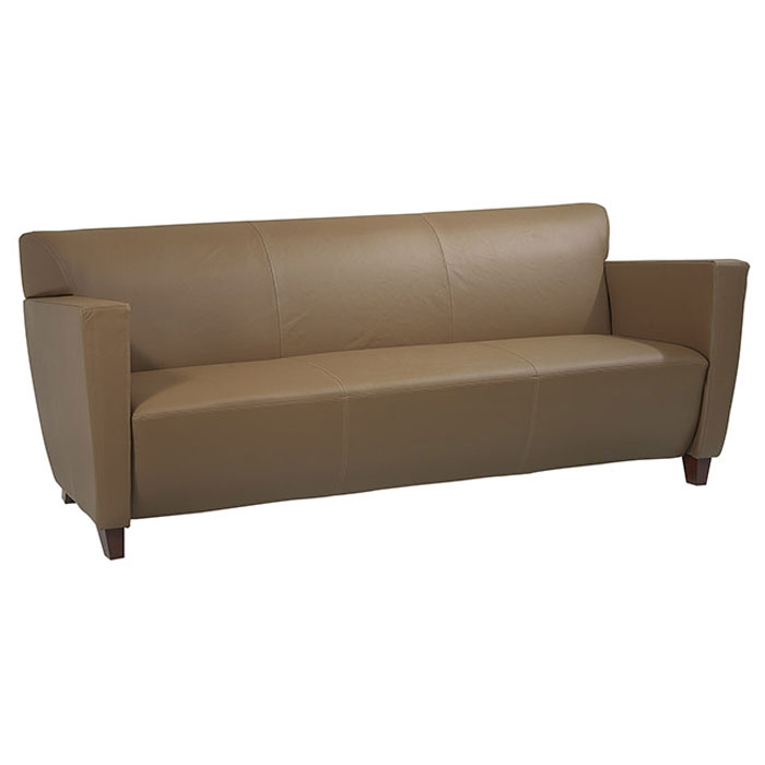 Contemporary Track Arms Sofa in Leather - OSP-SL8X73