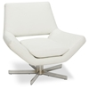 Avenue Six Yield White 30'' Wide Chair