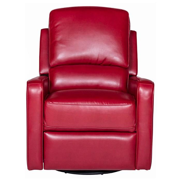 Perth Modern Leather Recliner Chair Swivel Glider Dcg