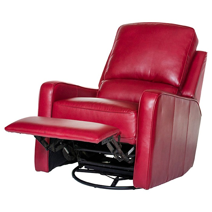 Perth Modern Leather Recliner Chair Swivel Glider DCG  : 1170 19emrred 4 from www.dcgstores.com size 700 x 700 jpeg 67kB