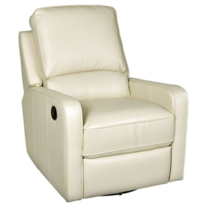 Perth Swivel Glider Recliner - Somerset Creme II