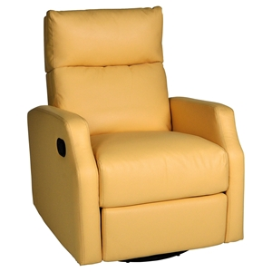 Sidney Swivel Glider Recliner - Bedford Yellow