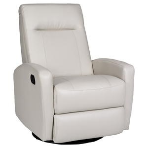Stefan Glider Recliner - Leather, Swivel