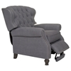 Cambridge Recliner - Button Tufted, Samantha Gray - OHF-2568-10SAMGRY