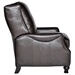 Charles Recliner Chair - Turned Feet, Baron Chocolate Leather - OHF-2730-10BARCHC