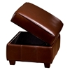 Marbella Contemporary Storage Ottoman - Coffee Leather - OHF-420-06CGCOF