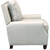 Bradford II Club Chair - Nail Heads, Brussels Linen Fabric - OHF-2530-01BRULIN