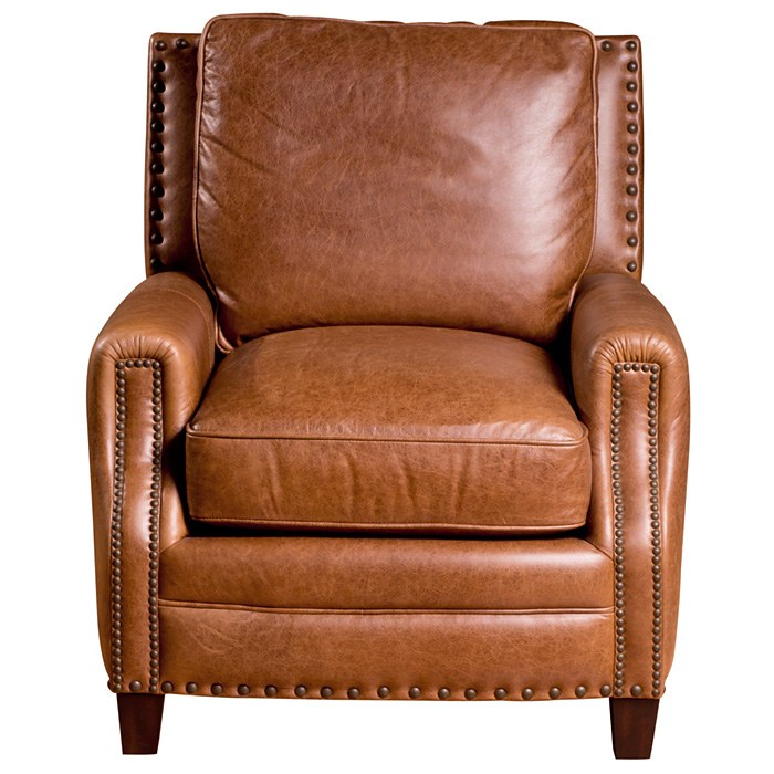 Bradford Ii Club Chair Nail Heads Coventry Saddle