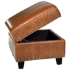 Bradford II Storage Ottoman - Coventry Saddle Leather - OHF-2530-06COVSAD