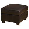 Max Storage Ottoman - Welting, Cortina Dark Brown Leather - OHF-550-06CORBRW