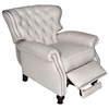 Cambridge Reclining Chair - Tufted, Brussels Linen Fabric - OHF-2568-10BRULIN