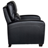 Brice Contemporary Recliner Chair - Royal Black Leather - OHF-738-10ROYBLK