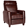 Florence Reclining Armchair - Royal Auburn Leather - OHF-8645-10ROYAUB