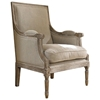 Pleasing Carolina Beach Lounge Chair Sand Linen Burnt Driftwood Finish Inzonedesignstudio Interior Chair Design Inzonedesignstudiocom