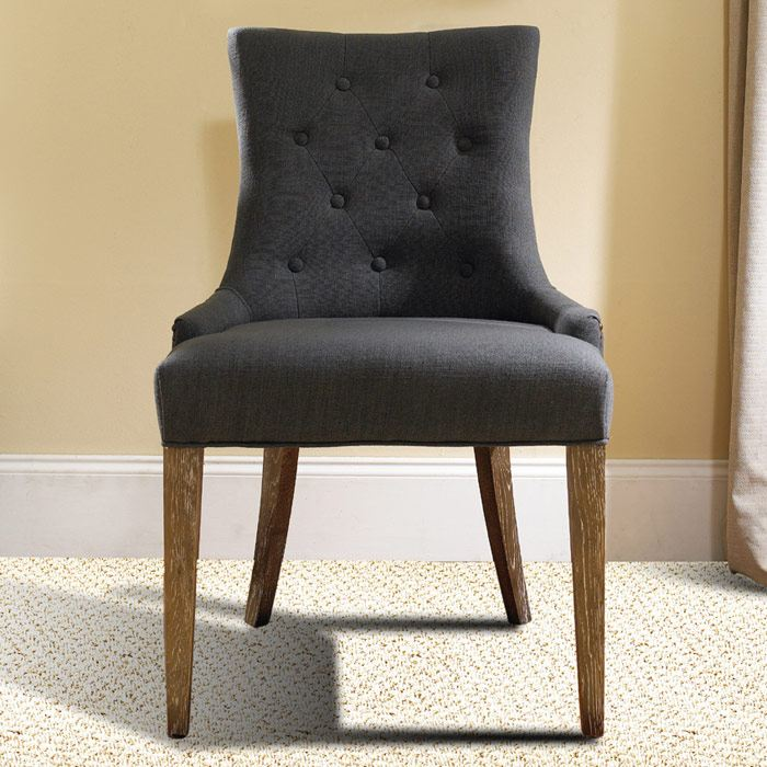 Myrtle Beach Dining Chair Button Tufts Charcoal Linen  : myr 12 c43 lifestyle from www.dcgstores.com size 700 x 700 jpeg 82kB