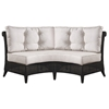 Outdoor Gulf Shore Love Seat - Cushions, All-Weather Wicker - PAD-OL-GLF01R