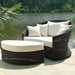 Outdoor Haven Wicker Lounge Chair and Ottoman Set - PAD-OL-HVN02-OL-HVN03