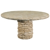 "Stone Stack 60"" Round Dining Table - PAD-OL-SSTTOP-60-OL-SST13-SMBASE"