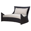 Tides Outdoor Double Lounge - Cushions, Octagonal Weave - PAD-OL-TID23