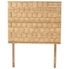 Rattan Weave Twin Size Headboard - Natural Finish - PAD-RWHB01-T