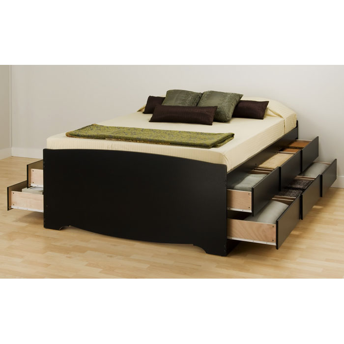 Blackbeard Full Captain's Platform Storage Bed - PRE-XBD-5612-K