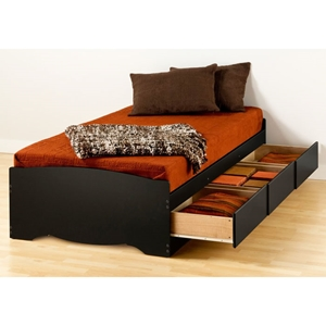 Drake Twin XL Mate%27s Platform Storage Bed