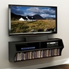 Altus Black Wall Mounted Audio Video Console - PRE-BCAW-0200-1